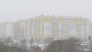 Метель в Челябинске. Челябинск 2017 - 03.10.2017