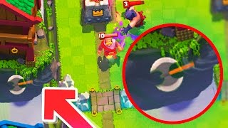 ¡¡HACHA DEL VERDUGO SALE DEL MAPA!! MAYOR BUG Y MITOS DE CLASH ROYALE