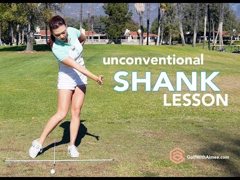 How to Fix Shank | Golf with Aimee