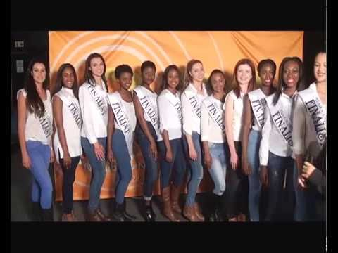 Miss Namibia finalists visit the the News on One