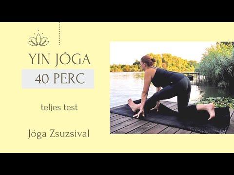 42 perc YIN jóga - teljes test otthoni jóga - Jóga Zsuzsival