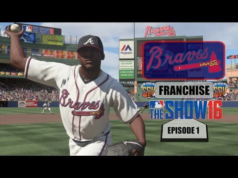 MLB The Show 16 (PS4) Atlanta Braves Franchise EP1 (Opening Day & A Trade)