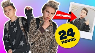 SWITCHING LIVES with my BOYFRIEND **24 Hour Challenge** 🔄 | Piper Rockelle
