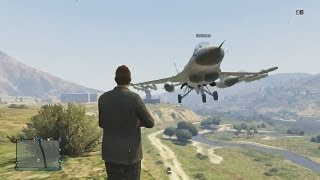 The Ultimate Jet Stunt Team! - Grand Theft Auto 5