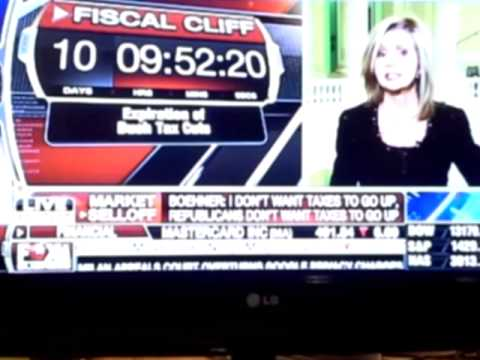 FISCAL CLIFF 12/21 SENATE REPUBLICANS SAY NO NEWS