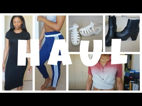Summer Try On Haul // Adidas, Public Desire + More | T'keyah B
