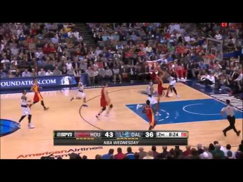 Chandler Parsons vs Dallas Mavericks 2013.11.20