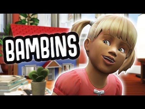 DECOUVERTE DES BAMBINS - SIMS 4