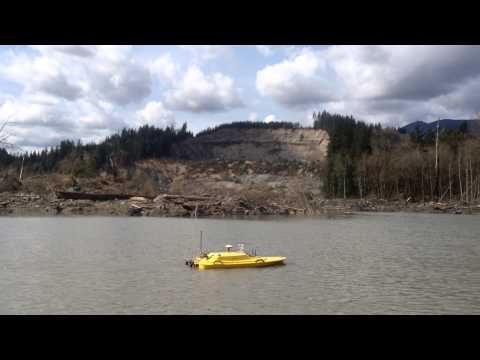 Oceanscience Z Boat 1800SS Tritech StarFish Oso Mudslide Disaster 2014