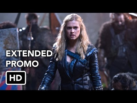 """The 100 2x15 """"Blood Must Have Blood Pt. 1"""" - Clarke (Eliza Taylor) and Lexa (guest star Alycia Debnam Carey) prepare for battle, while Raven (Lindsey Morgan) and Wick (guest star Steve Talley)..."""