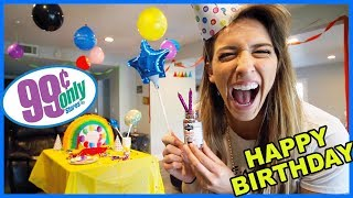 99 Cent Store Birthday Party!