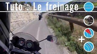 Trajectoires moto : Comment gérer le freinage