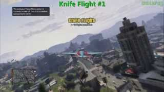 GTA 5 PS3 - 15 Knife Flights Guide
