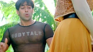 Krishma Kapoor confused by Salman Khan's behaviour - Judwaa - Comedy Scene - Hindi Movie