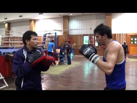 Jaidev Bisht - training India's Brightest Boxers