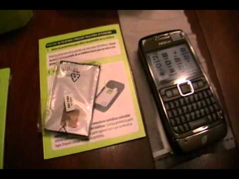 Unboxing Straight Talk Nokia E71 Smart phone from Walmart