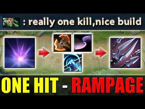 Quadruple AoE Rampage Build [Team Wipe Combo] Dota 2 Ability Draft