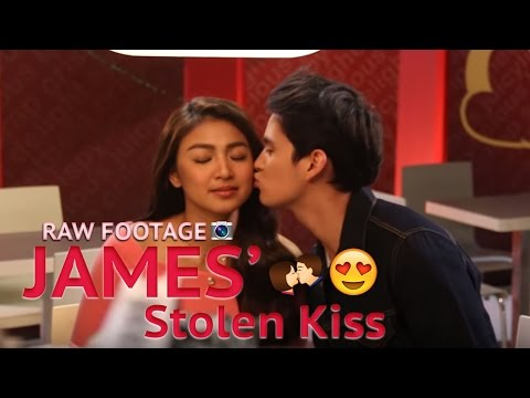 James's Sweet Kiss and Nadine's Spicy Dance