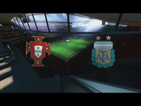 2014 FIFA World Cup Brazil - Portugal vs Argentina - [HD FULL Gameplay]