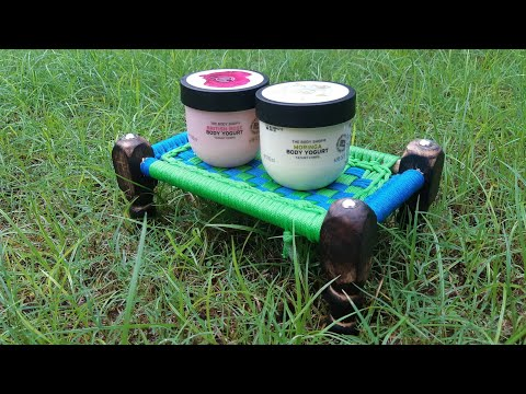 The body shop body yogurt review, new launch, limited edition, absorbed in 15 seconds