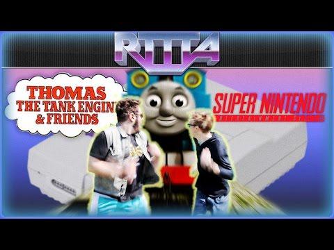 Thomas the Tank Engine for SNES - RTTTA