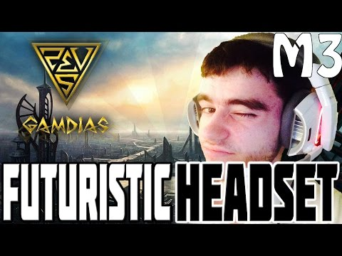GAMING HEADSET FROM THE FUTURE? (GAMDIAS Hephaestus PC Gaming Headset Review)