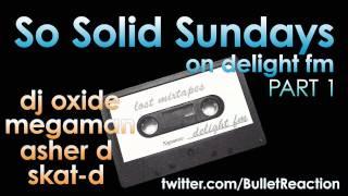 SO SOLID FREESTYLE: (2001) PART 1 (Delight FM) MEGAMAN-ASHER D-SKAT D- DJ OXIDE