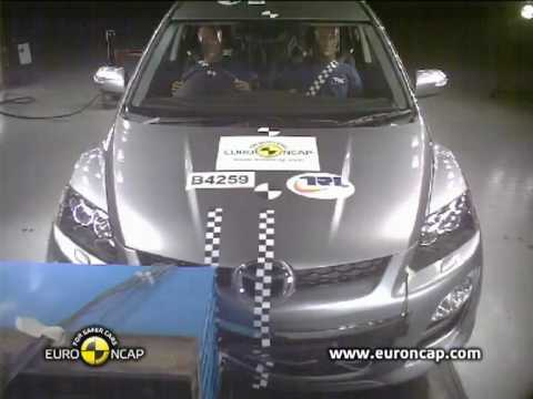 Краш-тест Mazda CX-7 Euro NCAP 2010