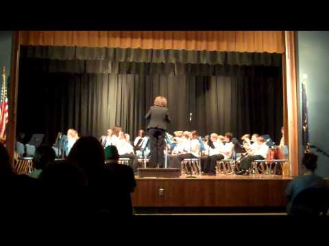 Delta Middle School 7th Grade Band Spring Concert. 05 10 2011