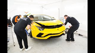 GVE Detailing: Lamborghini Aventador | FULL Paint Protection Film