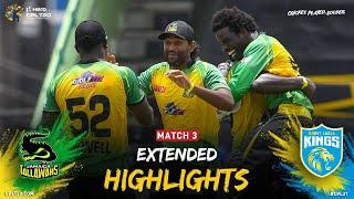 Extended Highlights   Jamaica Tallawahs vs Saint Lucia Kings   CPL 2021