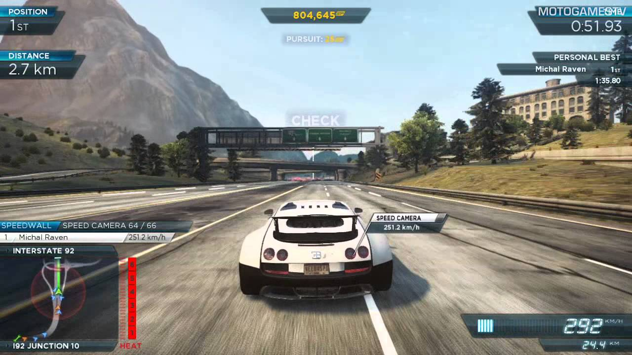 need for speed most wanted 2012 bugatti veyron super sport gameplay youtube. Black Bedroom Furniture Sets. Home Design Ideas