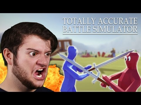 THIS GAME IS HILARIOUS! | Totally Accurate Battle Simulator (Funny Moments)