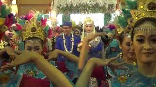 Pernikahan Desti Andri - Tarian Sirih Kuning. 130817