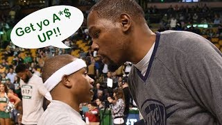 Kevin Durant Has No Time For Isaiah Thomas' FLOP