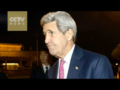John Kerry arrives in Beijing for two-day visit