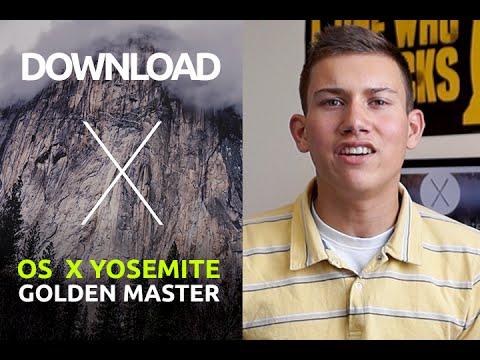 FULL Install Mac OS X 10.10 Yosemite Candidate 1.0 GM Updated: 01 10 2014