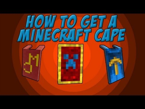 HOW TO GET A FREE MINECRAFT/MINECON CAPE IN ONLY 2 STEPS MINECRAFT 1.8 (TUTORIAL)