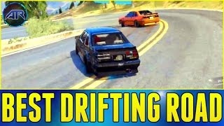 GTA 5 Online : BEST DRIFTING ROAD IN LOS SANTOS (Initial D)