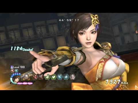 Samurai Warriors 4 II (PC) - Survival Mode (Standard) Level 100 - Character Nene