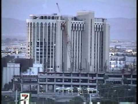 Aladdin Hotel Implosion
