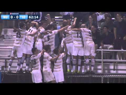 2014 Wingate Men's Soccer - Gui Peron game-winner vs. #6 Limestone
