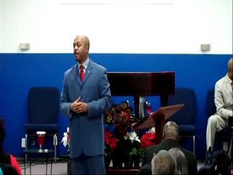 In His Glory Christian Ministries service. Pastor E. Todd Stubblefield