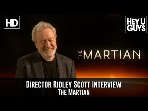 Exclusive Interview: Ridley Scott on The Martian (Prometheus 2 & Blade Runner 2)