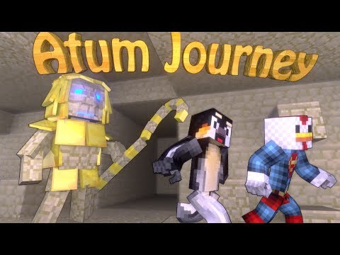 Ancient Egypt Dimension: Minecraft Atum Journey (Into the Sands) Mod Showcase!