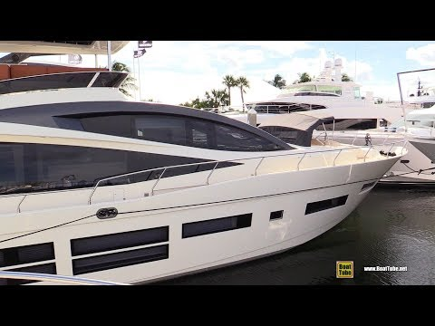 2019 Astondoa 80 Luxury Yacht - Deck and Interior Walkaround - 2018 Fort Lauderdale Boat Show