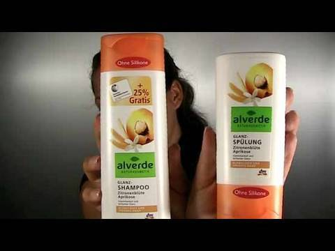 alverde shampoo co review haarpflege ohne. Black Bedroom Furniture Sets. Home Design Ideas