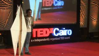 Origami Performace - The Dream, The Nightmare: Ossama Helmy At Tedxcairo 2012