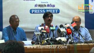 13th Chennai International Film Festival Press Meet