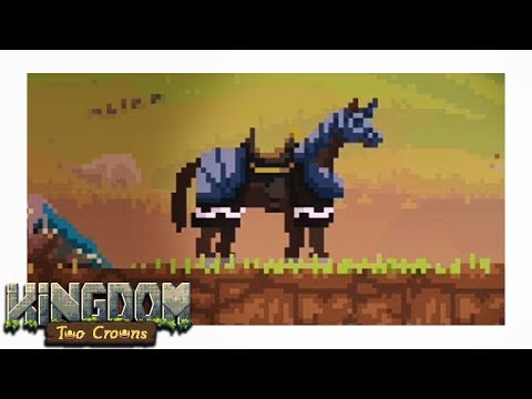Two NEW Mounts! A WAR HORSE - Kingdom Two Crowns Part 4 Gameplay Let's Play